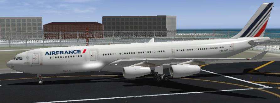 Air France Airbus A340-313 - Aircraft Skins - Liveries - X-Plane Org