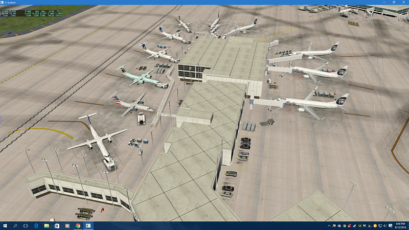 KSEA - Seattle Tacoma International Airport - Scenery