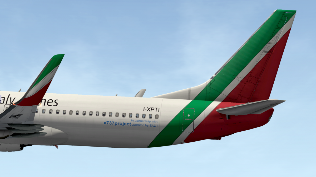 X-Italy Airlines - Boeing 737-800 EADT - Aircraft Skins - Liveries