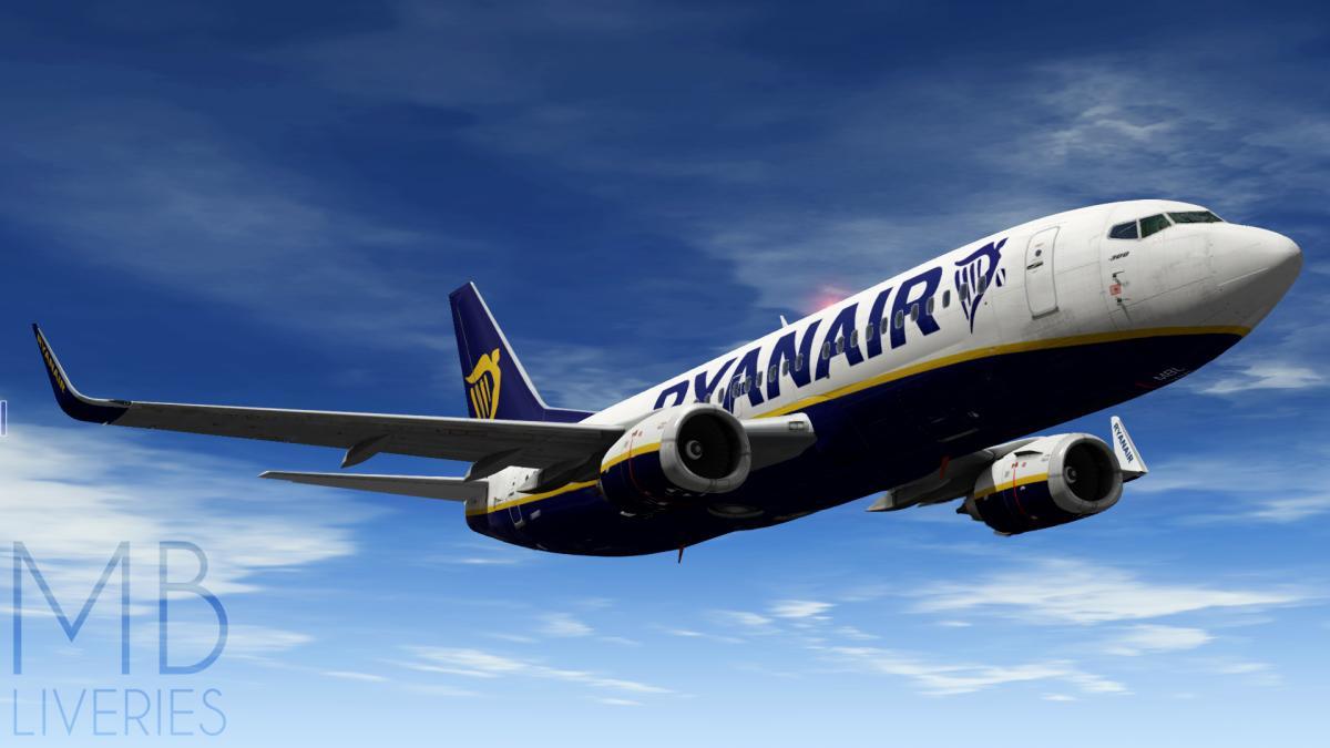Ryanair - Boeing 737-300 IXEG - Aircraft Skins - Liveries