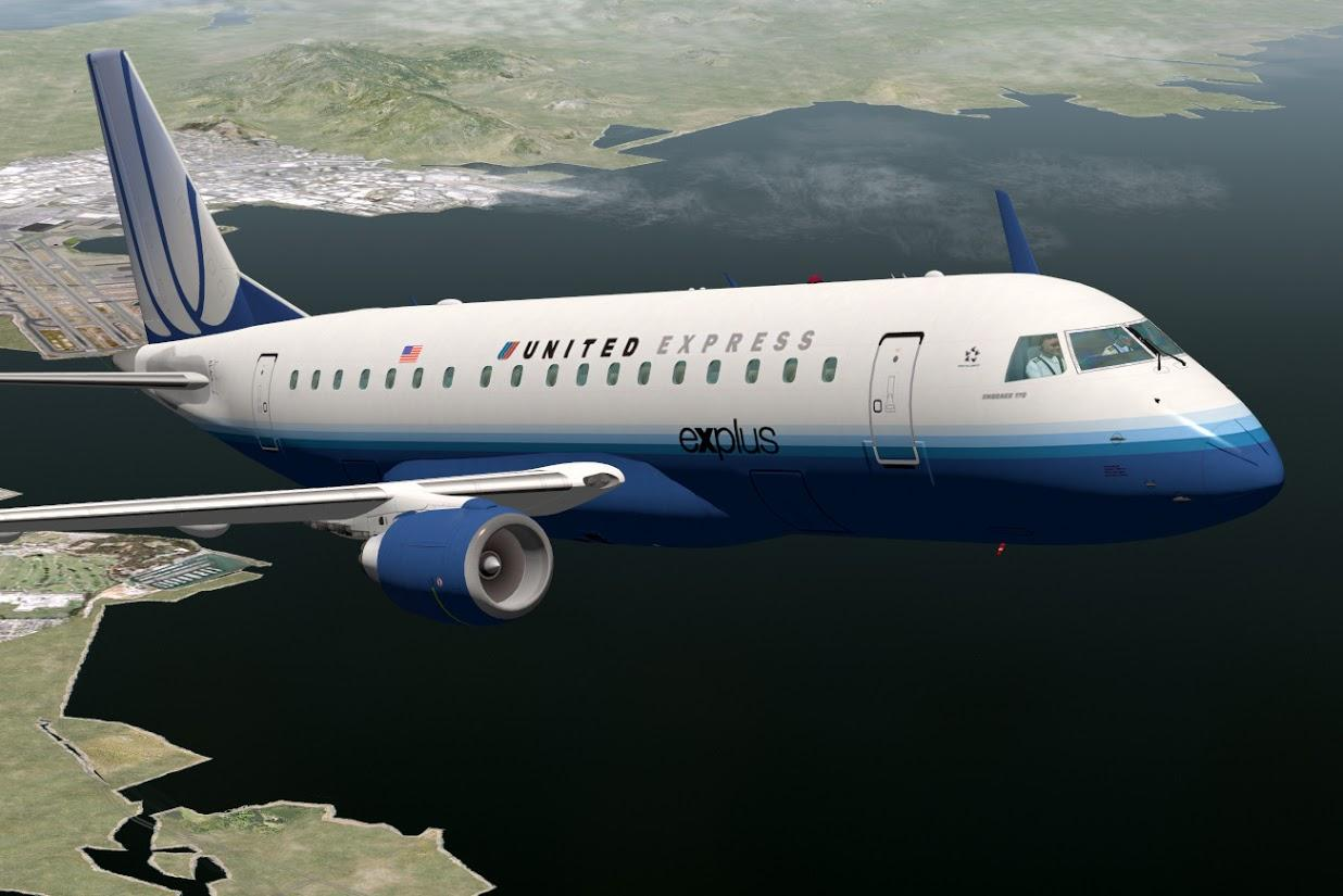 Embraer E-170 E-Jet by SSG - Civilian Fixed-Wing Heavy Metal