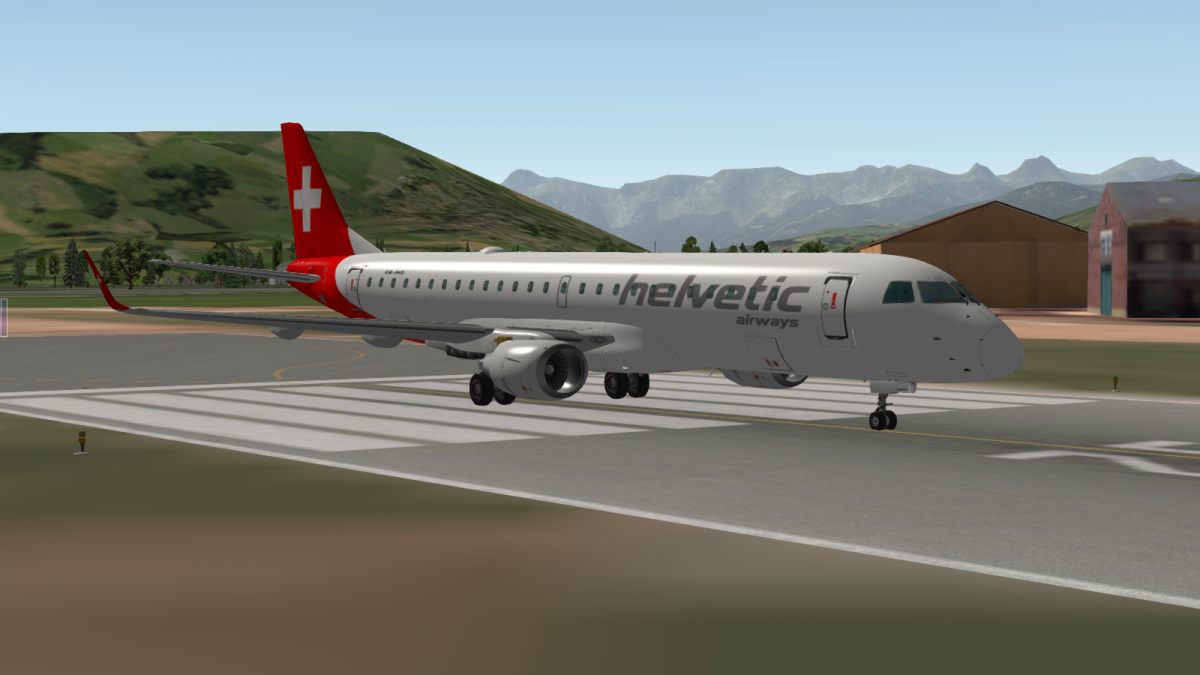 Helvetic Airways for SSG E-190LR - Aircraft Skins - Liveries