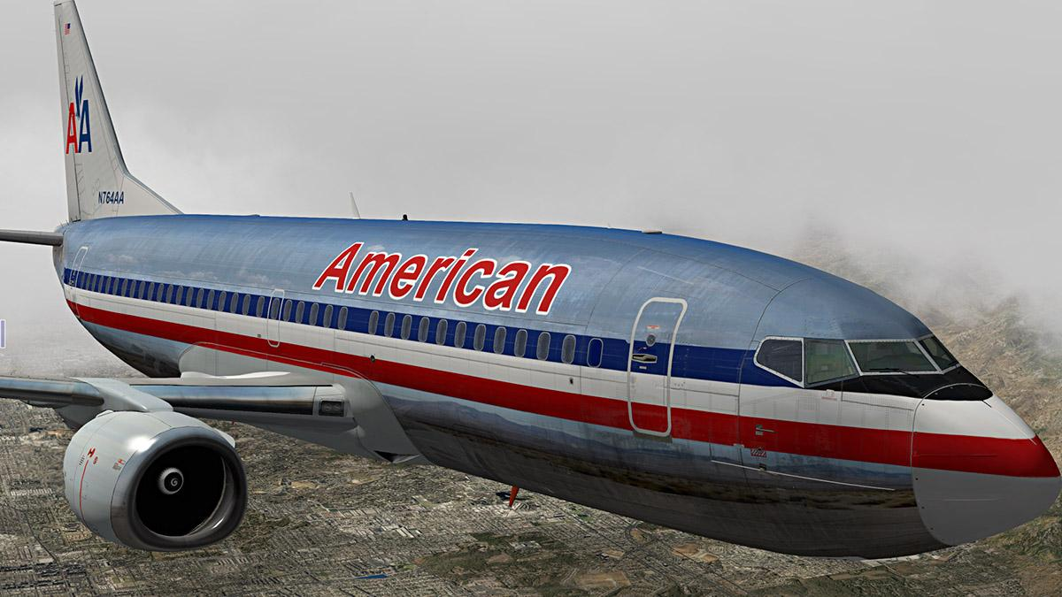 American Airlines for IXEG 737-300 - Aircraft Skins