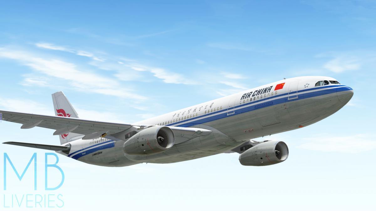 Air China - Airbus A330-200 JarDesign - Aircraft Skins - Liveries
