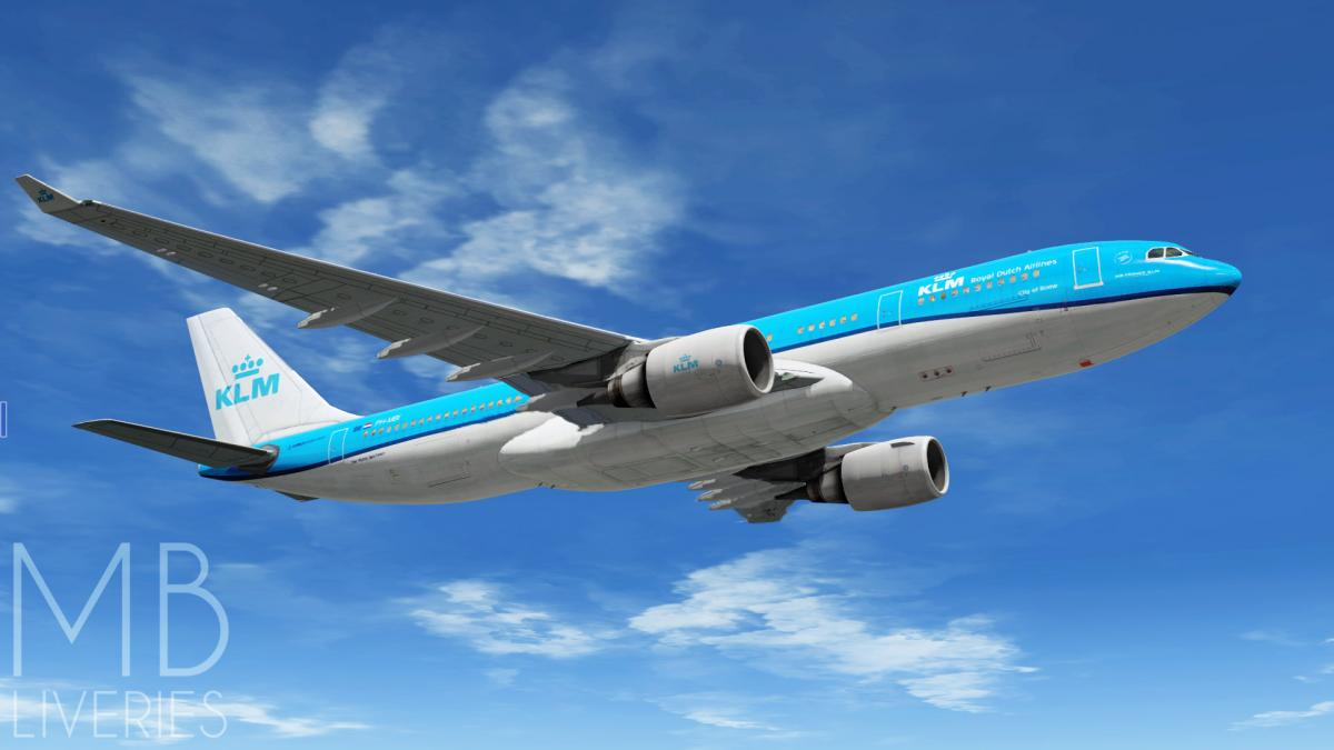 KLM (New) - Airbus A330-200 JarDesign - Aircraft Skins