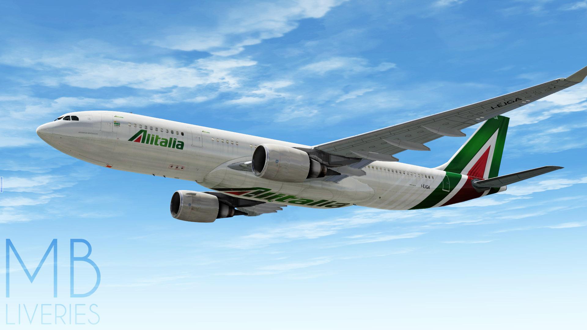 Alitalia (New) - Airbus A330-200 JarDesign - Aircraft Skins