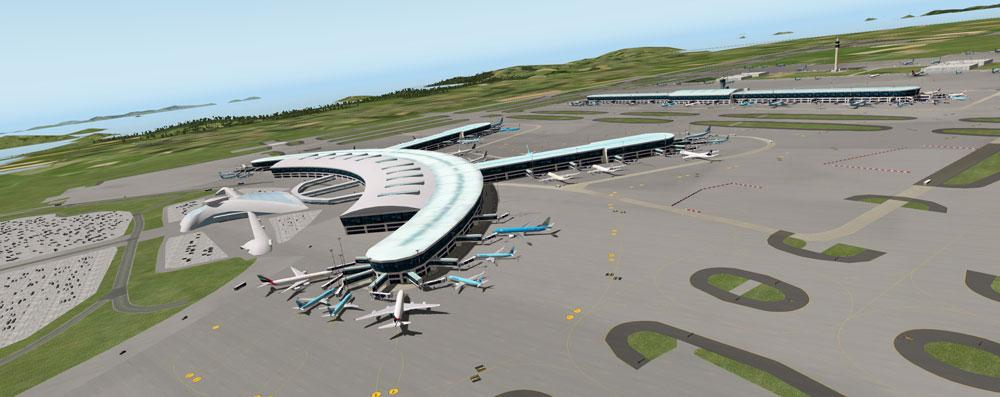 RKSI - Incheon International Airport - Scenery Packages (v11,v 10
