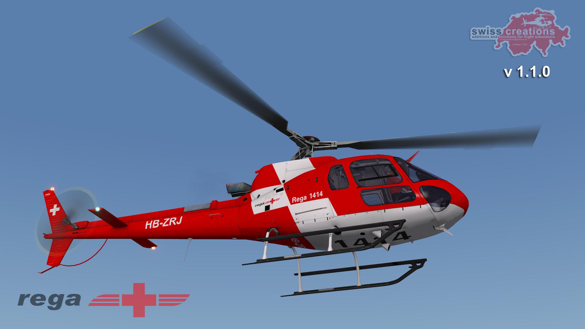 Elicottero 350 : Swisscreationss content x plane.org forum