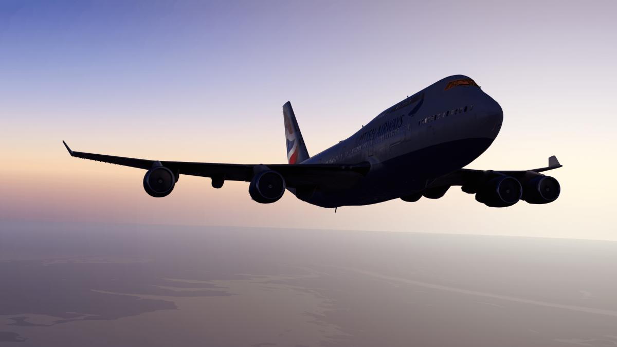 British Airways 747 (Default XP11) - Aircraft Skins