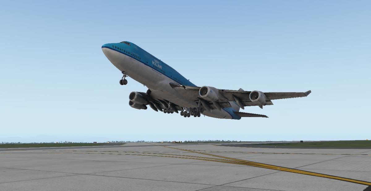 KLM Boeing 747-400 X-Plane 11 - Aircraft Skins - Liveries - X-Plane
