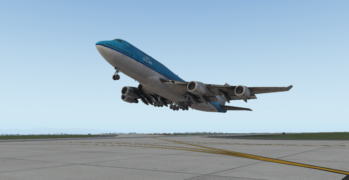 KLM Boeing 747-400 X-Plane 11 - Aircraft Skins - Liveries