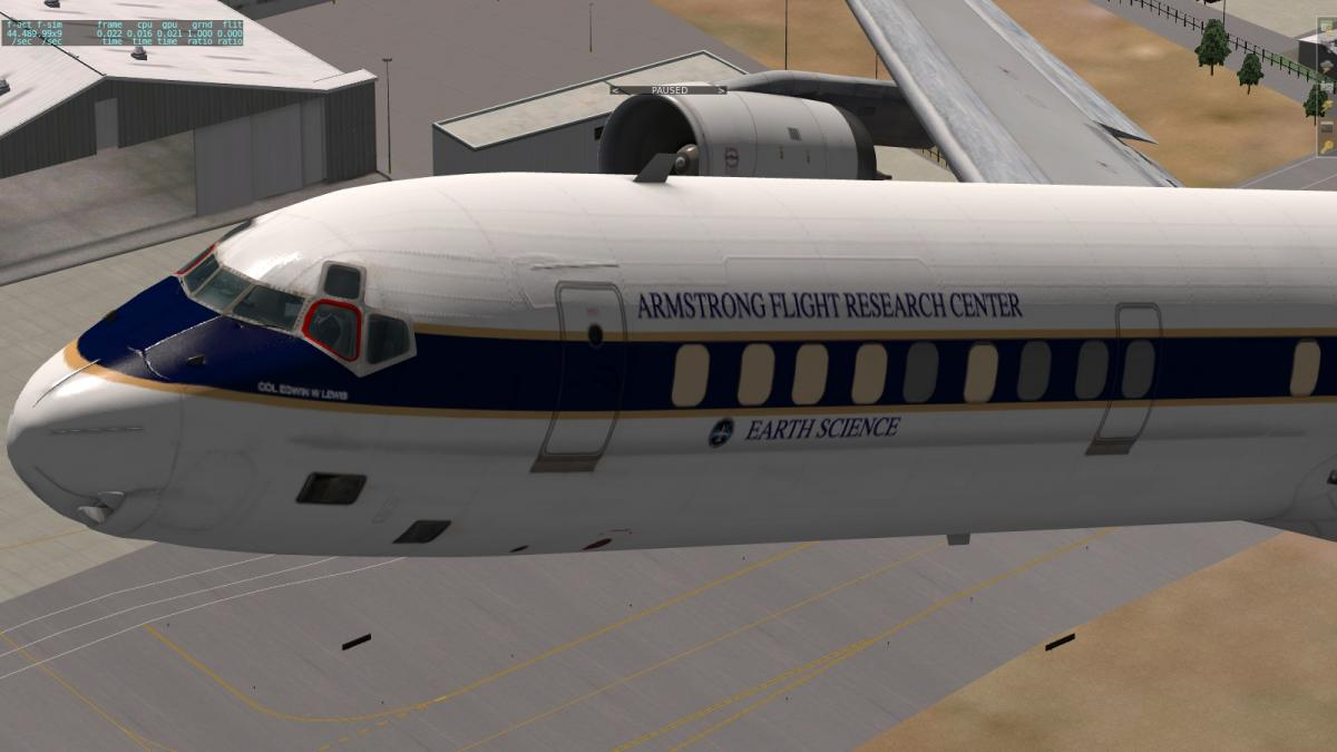 NASA DC-8 Livery for Michael Wilson's DC-8 71F - Aircraft