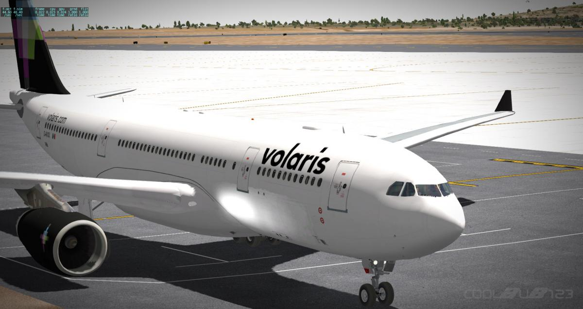 Volaris Fictional A332 - Aircraft Skins - Liveries - X-Plane