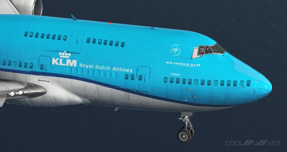 KLM (New) B744 - Aircraft Skins - Liveries - X-Plane Org Forum