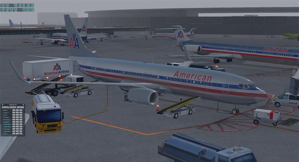 Default XP-11 737-800 Ground Handling Set - Utilities - X