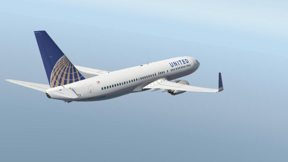 United for Xplane 11 737-800 - Aircraft Skins - Liveries - X-Plane