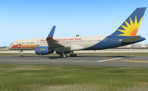 Flight Factor 757-200 v 2 Jet2Holidays - Aircraft Skins - Liveries