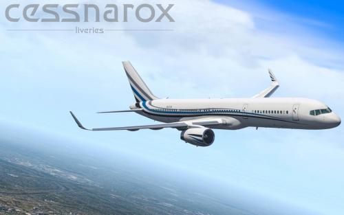 N801DM (Private) - FlightFactor 757(-200)v2 Livery - Aircraft Skins