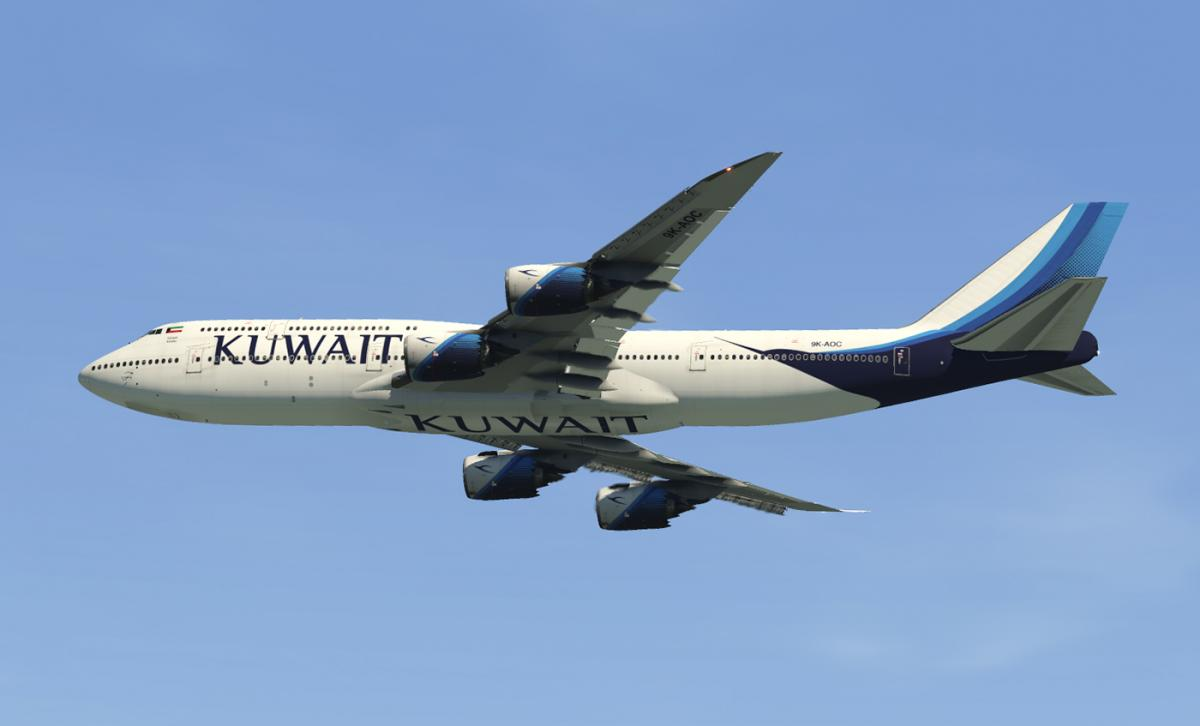 SSG 747-8i - Kuwait Airlines (Optimized for the new Version