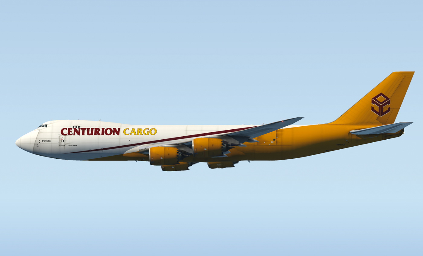 SSG 747-8F - Centurion Cargo (Optimized for the new Version