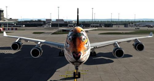 WWF Fictive - Boeing B747-400 (Default)