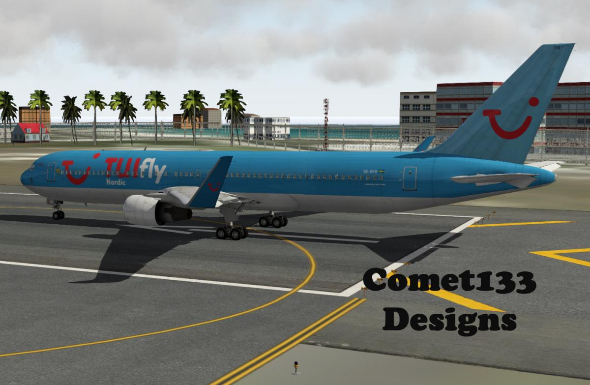 FlightFactor 767 - TUIfly Nordic - Aircraft Skins - Liveries - X