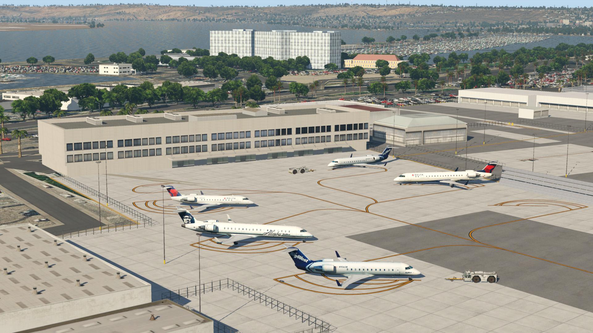 KSAN - San Diego International - Scenery Packages (v11,v 10