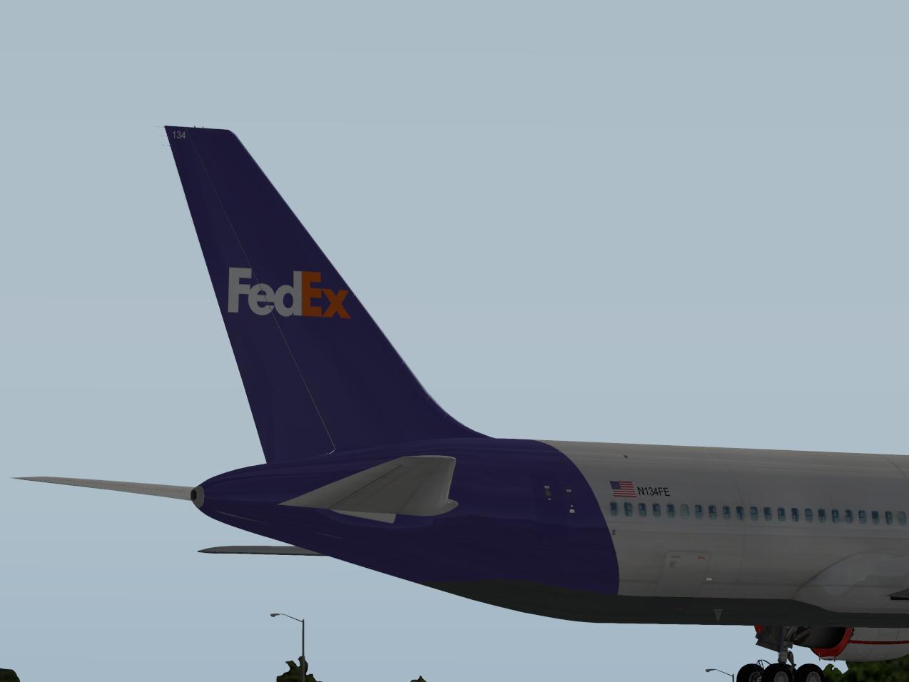 Flight Factor 767-300 FedEx - Aircraft Skins - Liveries - X-Plane