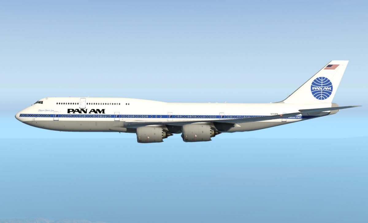 SSG 747-8i - Pan Am (Optimized for Version 1 6) - Aircraft
