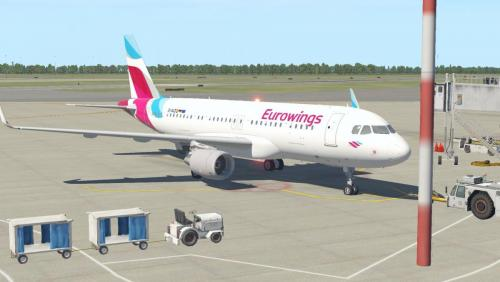 Eurowings A320 CFM - Aircraft Skins - Liveries - X-Plane Org