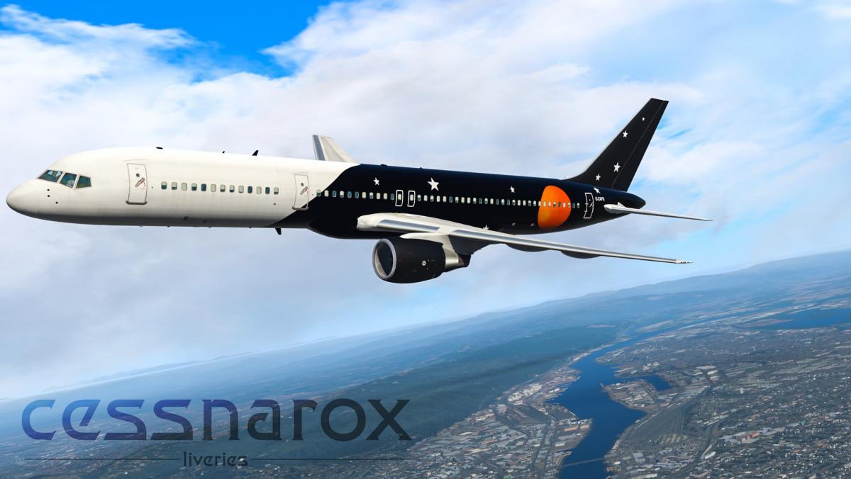 Titan Airways (Charter) - FlightFactor 757-200v2 livery