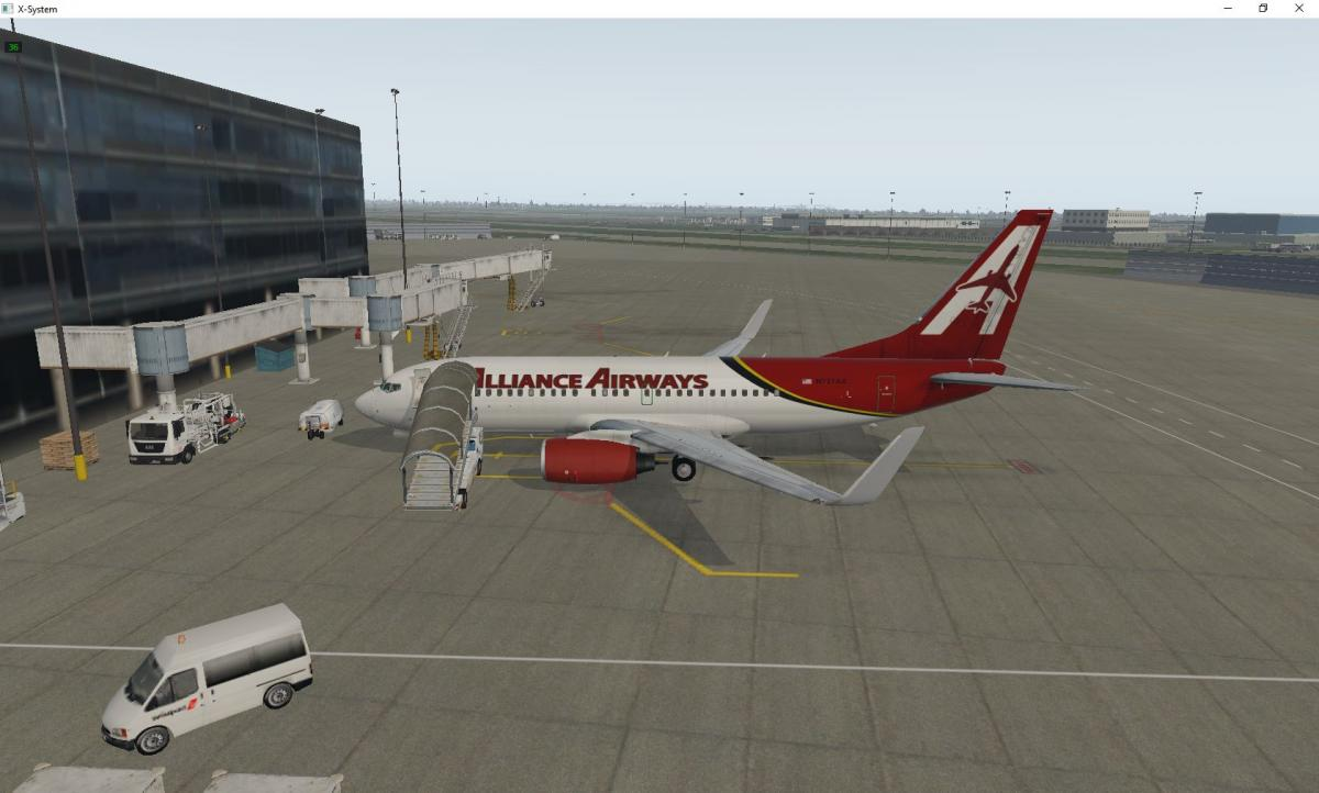 EADT 737-700 White Livery - Aircraft Skins - Liveries - X