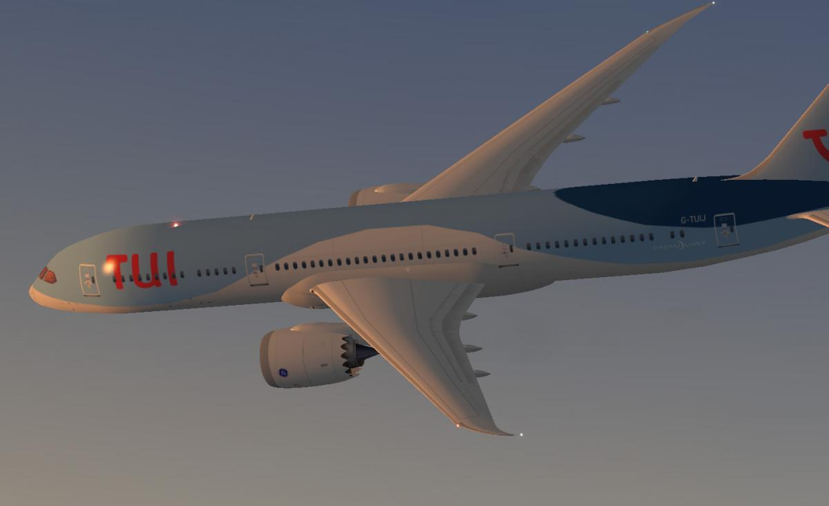 TUI Airlines UK 787-9 (G-TUIJ) - Aircraft Skins - Liveries - X-Plane