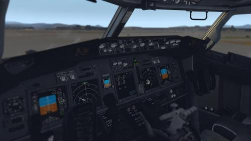 Zibo/Default B737-800 Dark textures replacement - Aircraft
