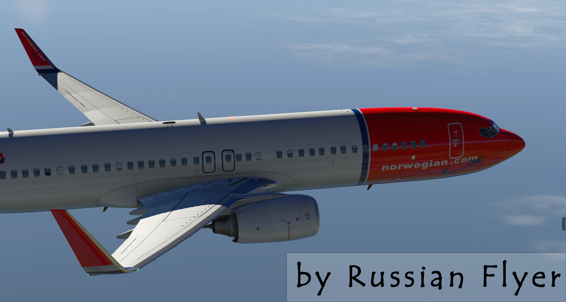 Norwegian Air International fleet for default Boeing 737-800