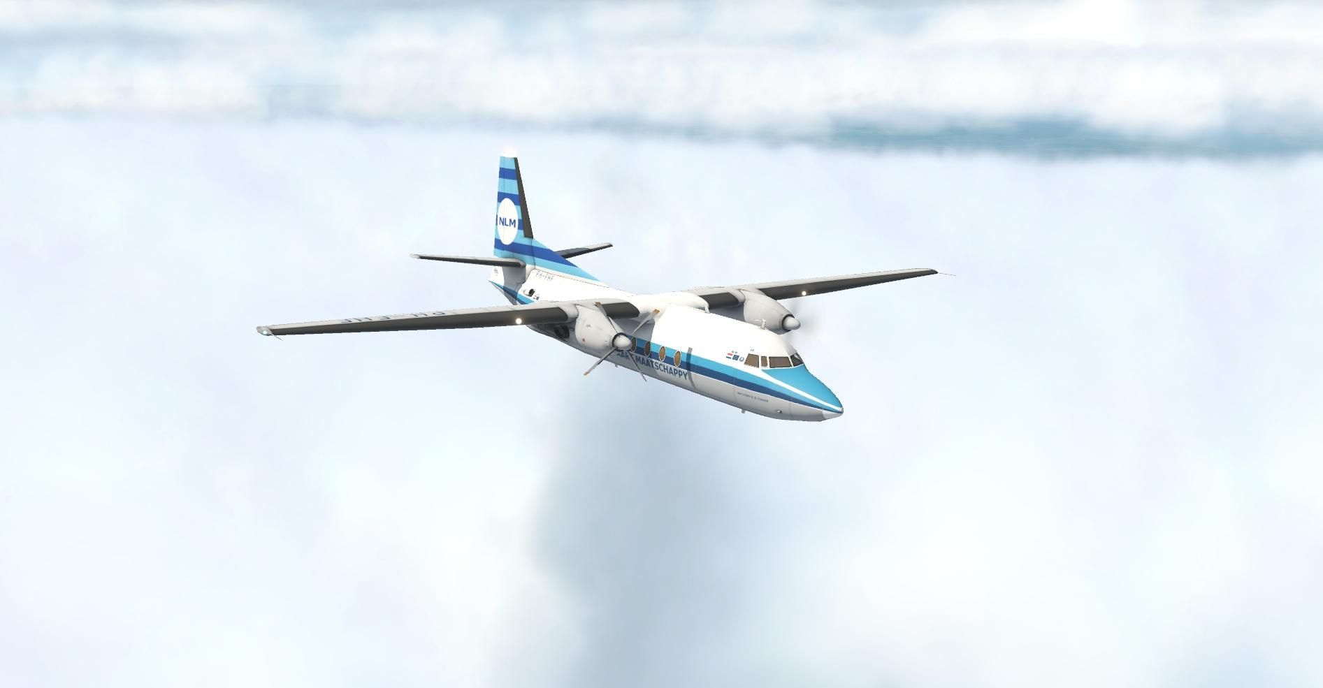 Mod 1.0 for Fokker F27-600 - Civilian Fixed-Wing Heavy Metal 1946 and later  - X-Plane.Org Forum