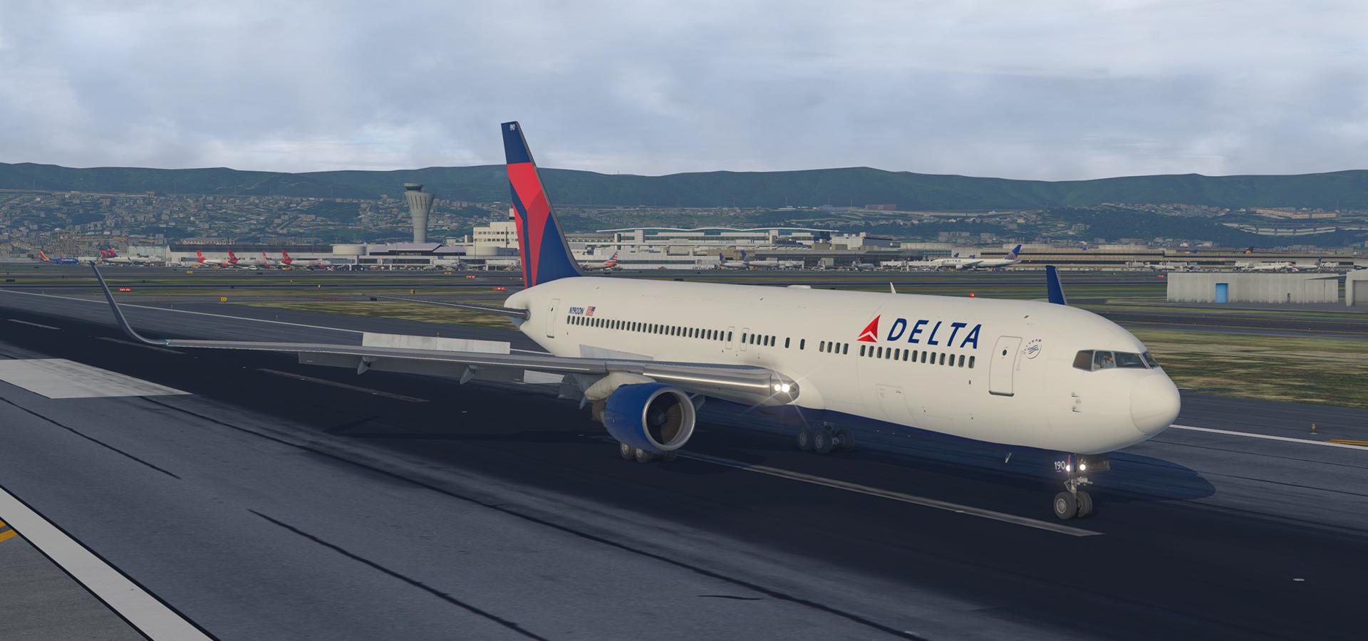 Delta Circa 2017 Boeing 767-332ER(WL) N190DN - Aircraft Skins