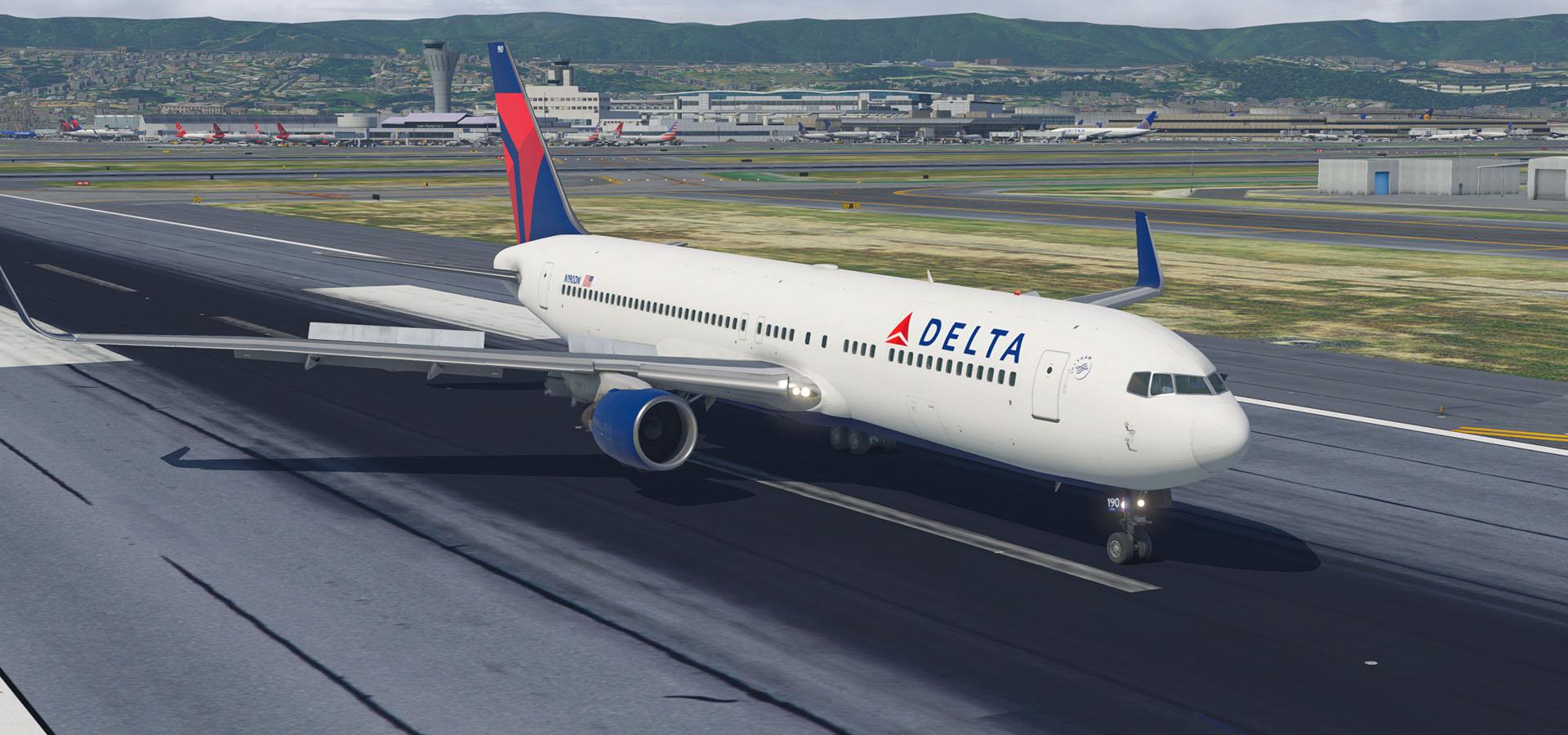 Delta Circa 2017 Boeing 767-332ER(WL) N190DN - Aircraft
