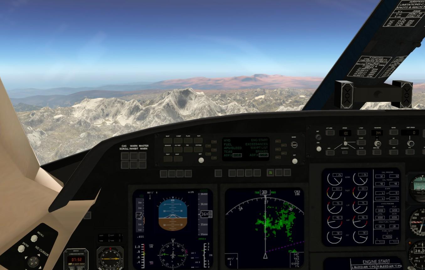Terrain radar + Vertical Situation Display - Utilities - X-Plane Org