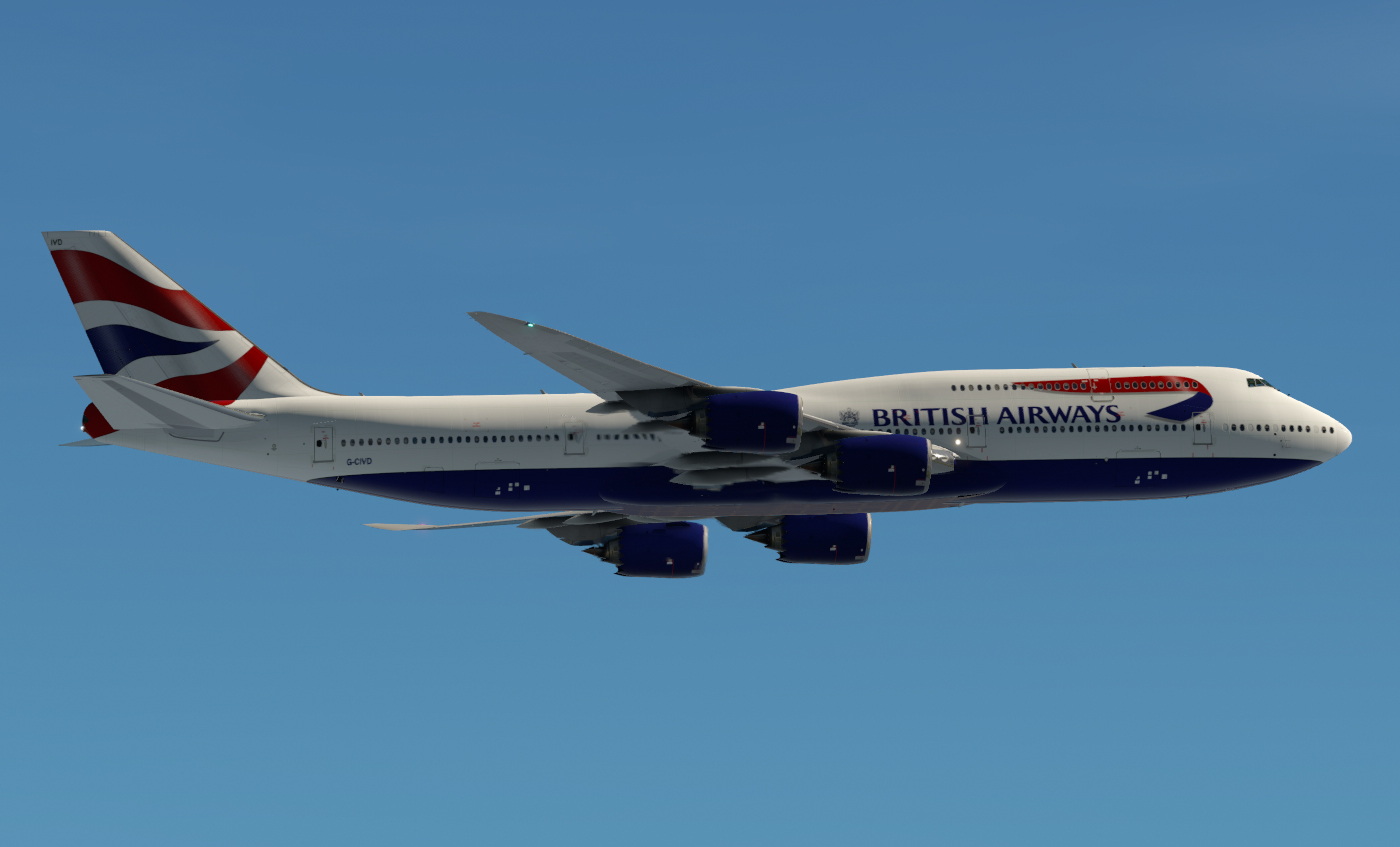 SSG 747-8i - British Airways (Optimized for V1 6) - Aircraft