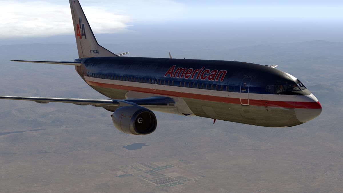 Old American Airlines for IXEG 737-300 (XP-11) - Aircraft
