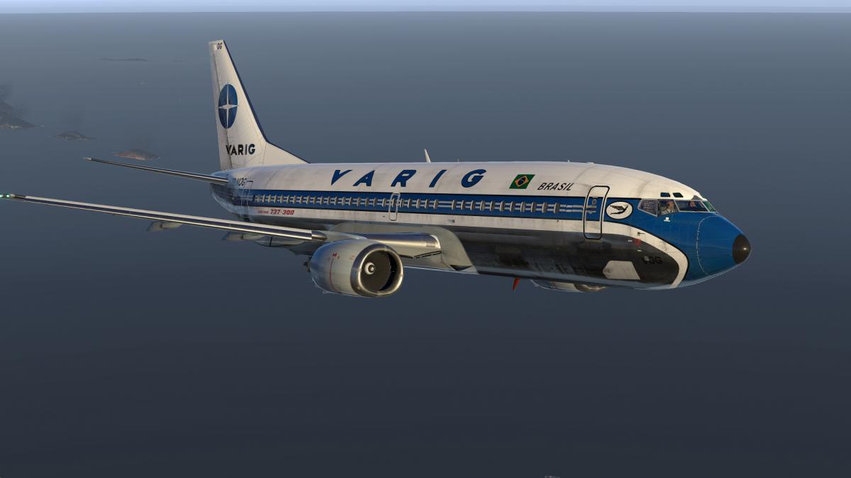 Varig PP-VOG for IXEG Boeing 737-300 (XP-11) - Aircraft Skins