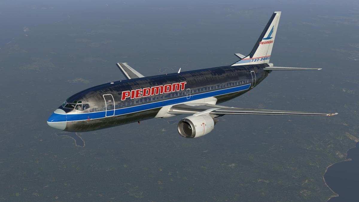 Piedmont N348US for IXEG 737-300 (XP-11) - Aircraft Skins - Liveries