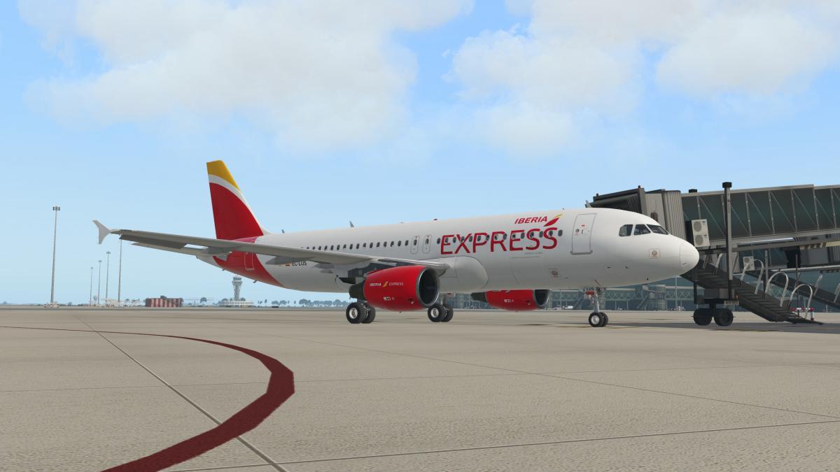 Iberia Express Flight Factor A320 Ultimate EC-LUS - Aircraft