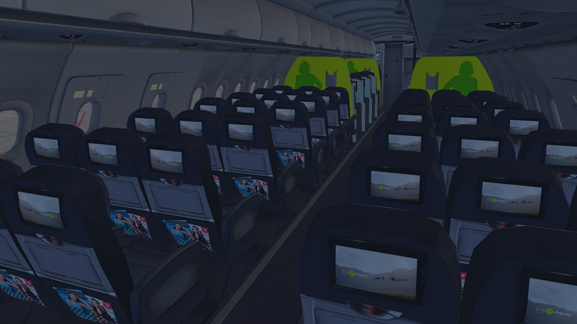 S7 Airlines - FlightFactor A320 - Aircraft Skins - Liveries - X