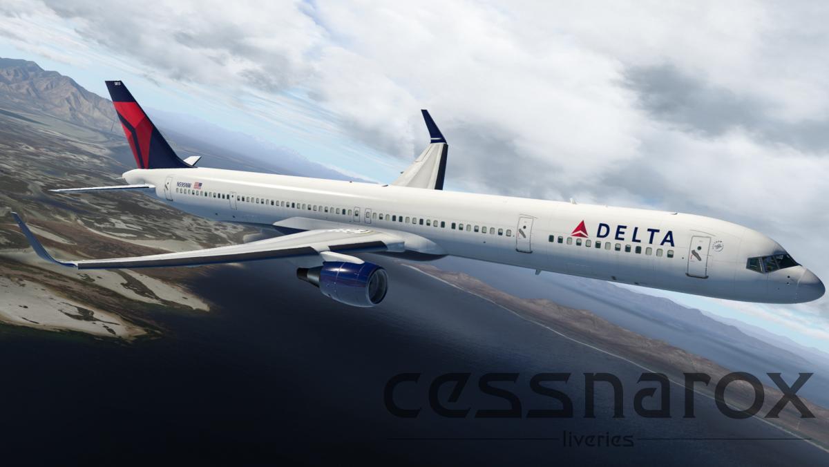 Delta (Current) - FlightFactor 757-300v2 Livery - Aircraft