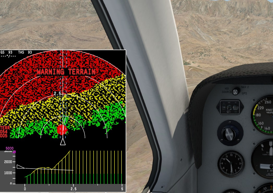 Terrain radar + Vertical Situation Display - Utilities - X