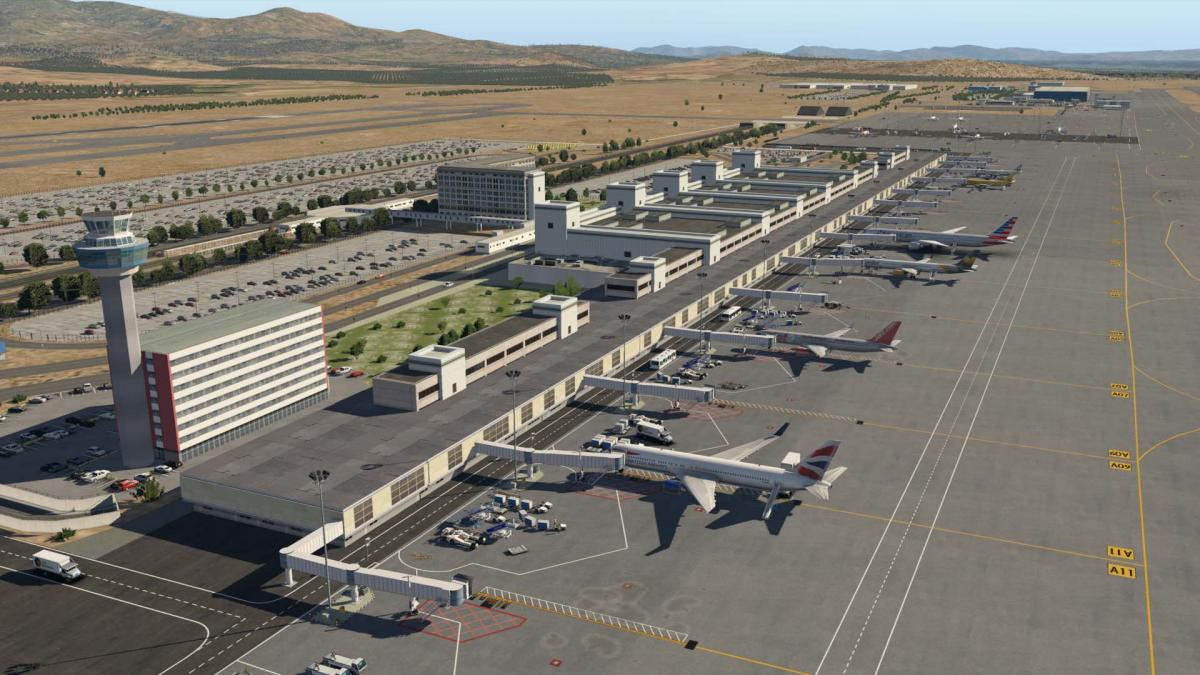 LGAV Athens International Airport Greece - Scenery Packages