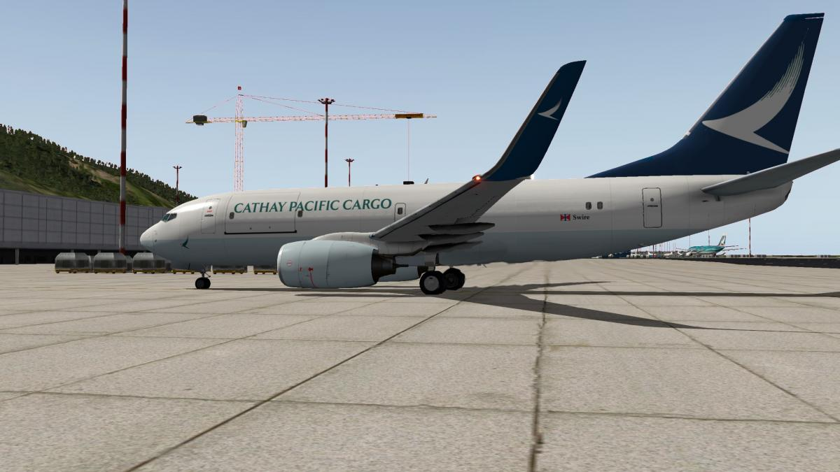 Cathay Pacific Cargo 737-700 EADT - Fictional - Aircraft Skins