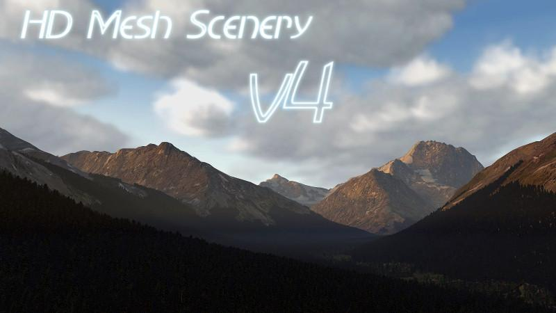 HD Mesh Scenery v4 for X-Plane 11 - Scenery Packages (v11,v 10, v9